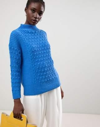 Warehouse bobble sweater