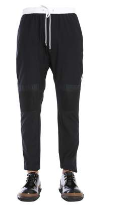 Les Hommes Trousers With Elasatic Waistband