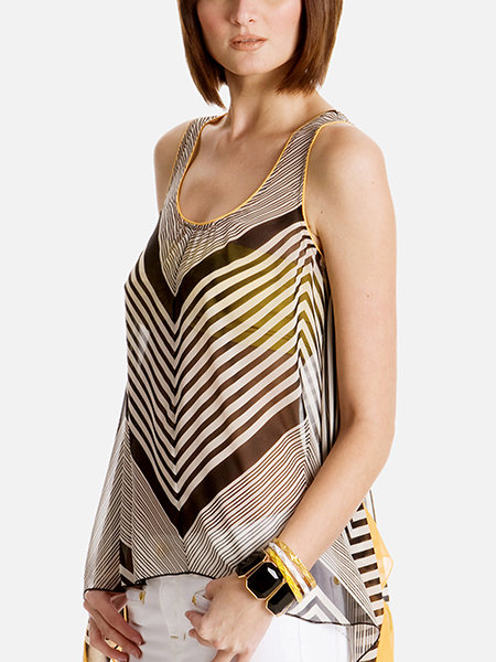Solange Striped Tunic