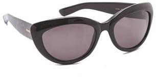 Saint Laurent Rounded Cat Eye Glasses