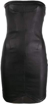 RtA strapless leather dress