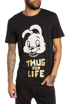 Eleven Paris ELEVENPARIS Thug for Life Graphic T-Shirt