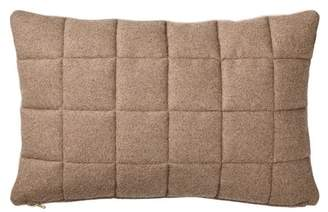 """BLOOMINGVILLE 23\"""" Quilted Recycled Wool Pillow"""