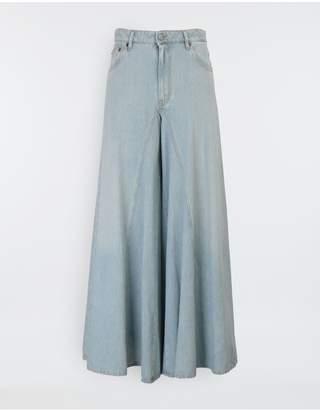 Maison Margiela Flared Washed Denim Pants