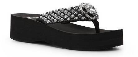 Corky's Diamond Wedge Sandal