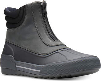 Clarks Collection Women's Gilby Cherry Cold-Weather Waterproof Booties Women's Shoes