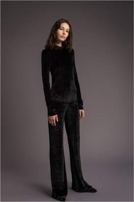 Sonia Rykiel Velvet Sweatshirt