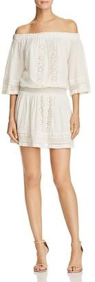 Tularosa Fiona Off-the-Shoulder Dress $168 thestylecure.com