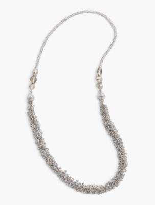 Talbots Wear-Two-Ways Faceted Bead Necklace