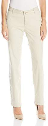 Lee Indigo Women's Basic Twill Chino Pant With Coin Pocket