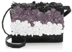 Nancy Gonzalez Carrie Floral Embellished Clutch