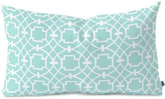 Deny Designs Caroline Okun Cool Mint Umbria Oblong Throw Pillow