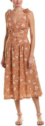 Anama Crossover Midi Dress