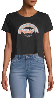 Armani Exchange Miami Cotton T-Shirt