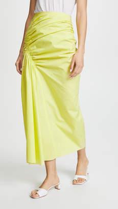Pringle Gathered Poplin Skirt