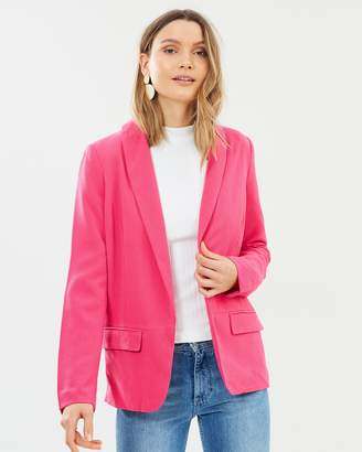 Vero Moda Safra Solid Long Sleeve Blazer