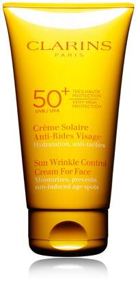 Clarins Sun Wrinkle Control Cream For Face Very High Protection UVB/UVA 50+