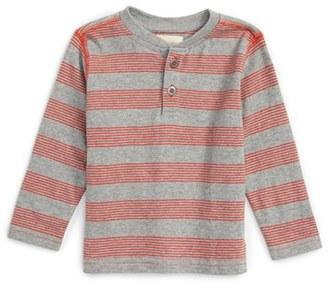 Infant Boy's Peek Clifton Stripe Henley $28 thestylecure.com