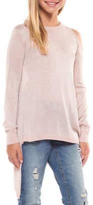 Dex Asymmetrical Glitter Sweater