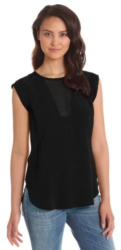 Rebecca Taylor Women's Pieced Shell Blouse