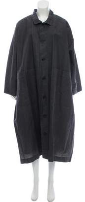 eskandar Linen Oversize Jacket. Designer size 0.