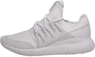 adidas Tubular Radial Trainers Crystal White/Crystal White/Crystal White