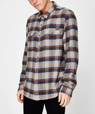 Wrangler Aftermath Shirt Multi Check Multi Check