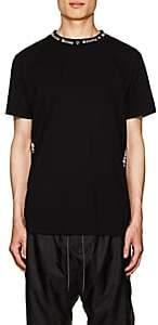 Marcelo Burlon County of Milan Men's Logo Cotton Jersey T-Shirt - Black