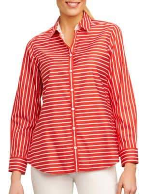 Foxcroft Striped Shirt