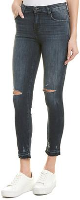 J Brand Alana Flurry High-Rise Skinny Crop