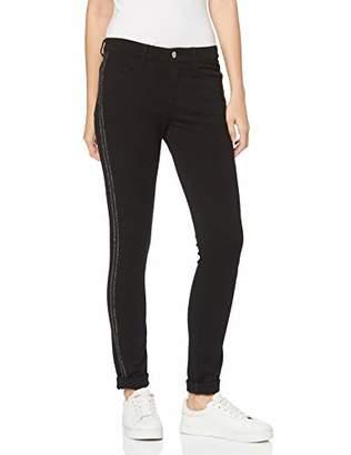 M·A·C MAC Women's 0109L Cosima Galloon Relaxed Trousers - Black - 42W/34L