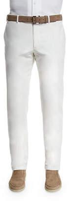 Loro Piana Comfort Slim-Stretch Cotton Trousers