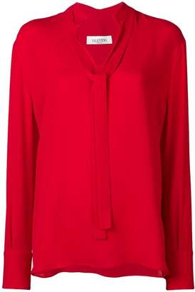 bd37e305fabc88 Red Valentino Bow Top - ShopStyle