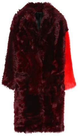 Mantel aus Shearling