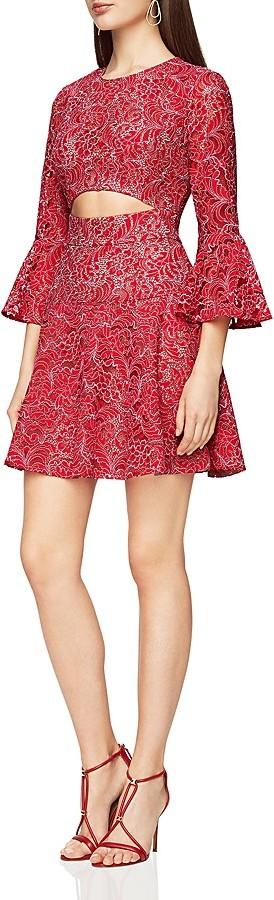 BCBGMAXAZRIABCBGMAXAZRIA Cutout Lace Dress