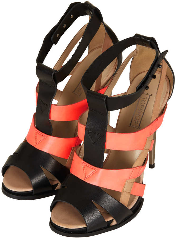 Topshop RAFFERTY High Gladiator Sandal