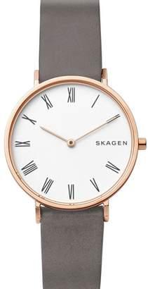 Skagen Slim Hald Watch, 34mm