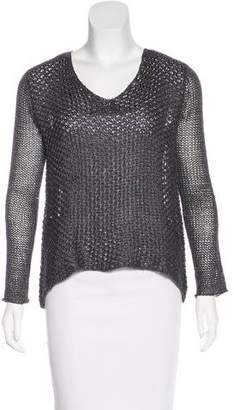 Helmut Lang HELMUT Linen Open Knit Sweater