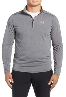 Under Armour 'Streaker' Fitted Quarter Zip Training Pullover