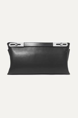 Loewe Missy Medium Leather Shoulder Bag - Black