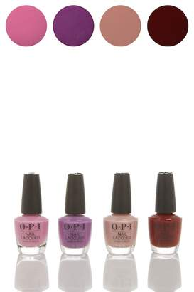 OPI Peru Mini Nail Polish - Pack of 4