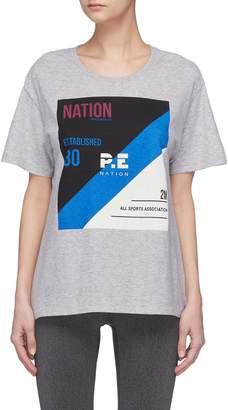 P.E Nation 'Hometown Legend' print T-shirt