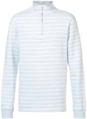 Très Bien half zip sweater