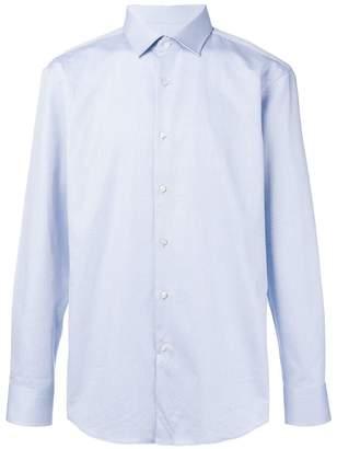 HUGO BOSS classic curved hem shirt