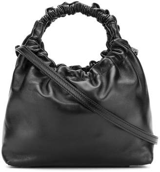 The Row ruched handle tote bag