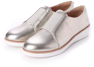 FitFlop (フィットフロップ) - フィットフロップ fitflop LACELESS ELASTIC DERBY - SHEER METALLIC LEATHER