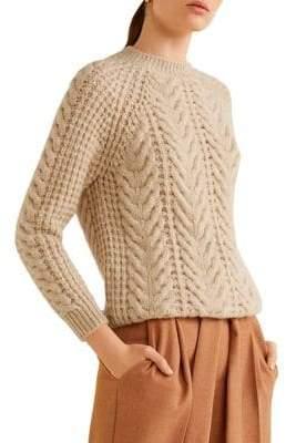 MANGO Raglan-Sleeve Sweater