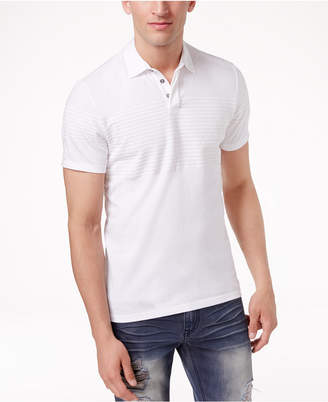 INC International Concepts I.n.c. Men's Gel-Striped Polo, Created for Macy's