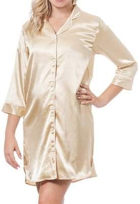 Cathy's Concepts Gifts For Her Bride Satin Night Shirt