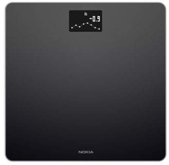 Body BMI WiFi Scale in Black